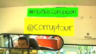 Un tour llama a actuar contra la corrupción en México