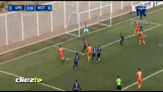La jugada fantástica de UPNFM ante Motagua que pudo terminar en golazo