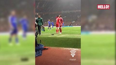 David Beckham got subbed by son Brooklyn Beckham during UNICEF match