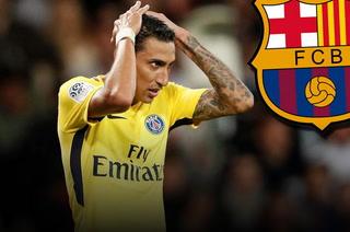 El PSG dice 'no' a la pretensión del Barcelona de fichar a Ángel Di María