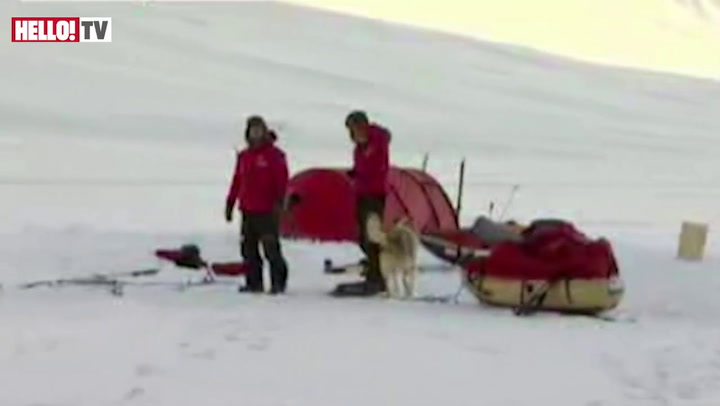 \'William would\'ve loved it here\': Prince Harry in the Arctic