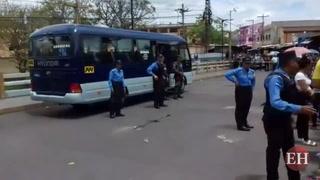 Comayagüela: Matan conductor de bus rapidito en puente Soberanía