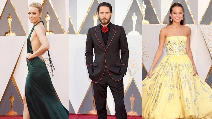 En vídeo: la gran pasarela de los Oscar