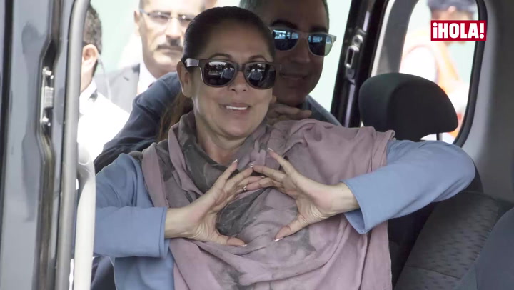 La emoción de Isabel Pantoja a su llegada a Perú, tras 20 años de ausencia