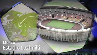 Así es el Estadio Luzhniki, sede de la gran final del mundial de Rusia 2018