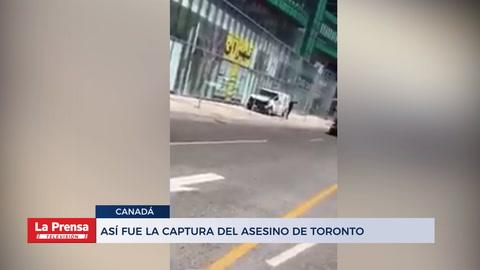 Así fue la captura del asesino de Toronto