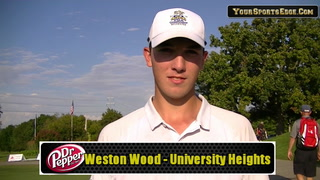Wood Scrambles Way to Second Round