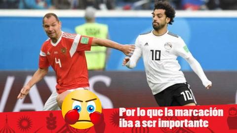 EHmojicrónica: Rusia vence cómodamente a Egipto de Salah