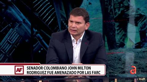 Entrevista exclusiva con el senador colombiano, John Milton Rodríguez