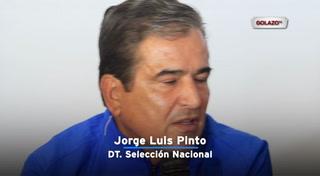 Pinto: ''Estoy golpeado, pero no es un fracaso''