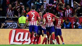 El Atlético derrota al Real Madrid y se queda con la Supercopa de Europa