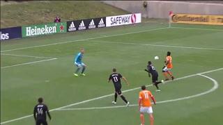 Alberth Elis figura clave en el empate a dos del Houston Dynamo