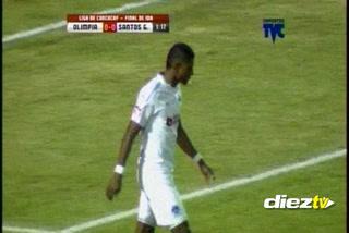 Los errores de Carlo Costly y Roger Rojas ante Santos Guápiles
