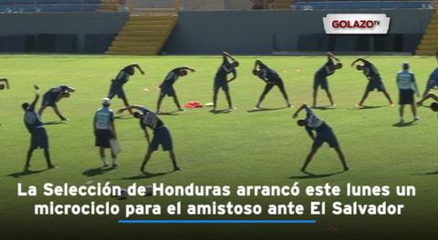 Pinto se prepara para El Salvador pensando en las eliminatorias