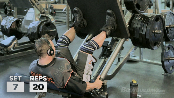 DTP Legs & Upper Abs Workout | Kris Gethin's DTP