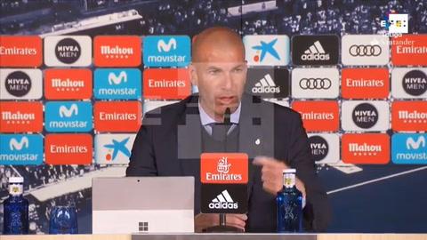 Zidane: La decisión de no traer a Kepa es de todos, pero yo soy el entrenador