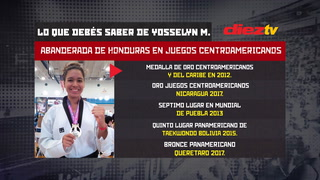 Yosselyn Mata: Esperenza de medalla de oro en Barranquilla 2018