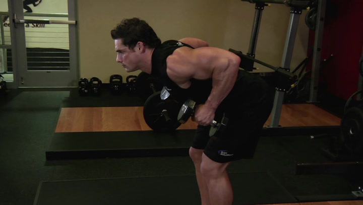 Bent Over Two Dumbbell Row - Back Exercise - Bodybuilding.com
