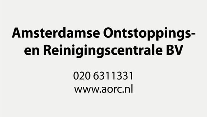 Amsterdamse Ontstoppings- en Reinigingscentrale BV - Video tour