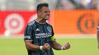 Chicharito Hernández le gana el duelo a Higuaín: el Galaxy derrota al Inter Miami con doblete del mexicano