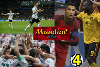 Mundial al Día: Bélgica golea, Alemania resucita y México levanta el perfil de Concacaf