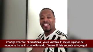 La divertida bienvenida de Evra a Cristiano Ronaldo en la Juventus