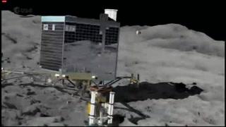 Sonda Rosetta concluye su misión