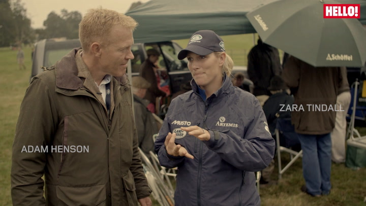 Zara Phillips judges Land Rover Tailgate Picnic competition at Burghley Horse Trials