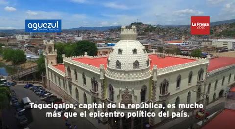 Ruta 504: Tegucigalpa, joya colonial
