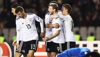 Alemania golea 4-1 a Azerbaiyán y se mantiene firme el la Eliminatoria (resumen)