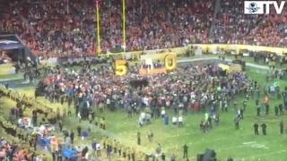 Festejan victoria de Denver en el Super Bowl 50