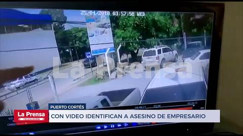 Con video identifican a asesino de empresario