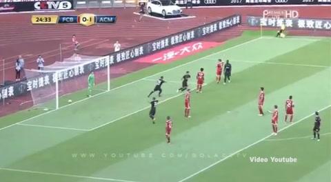 AC Milan 4 -0 Bayern Múnich (Amistosos Europeos 2017)