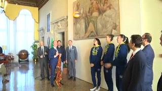 Imoco Volley a Palazzo Balbi