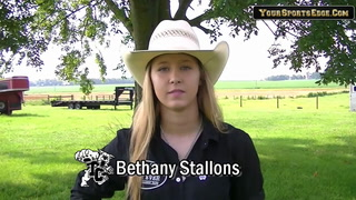 Stallons Ready for National High School Rodeo