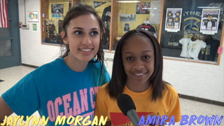 TQT Jaylynn Morgan and Amira Brown