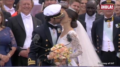 Carlos Felipe y Sofia de Suecia se prometen amor eterno