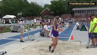 Leah Schroeder Long Jump