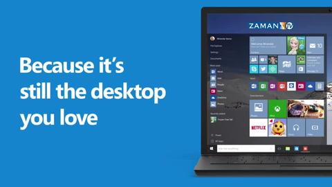 Windows 10 bugün çıktı