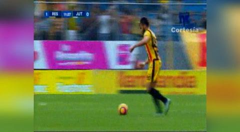 Gol de Domingo Salazár al Jutcialapa (Liga Nacional 2017)