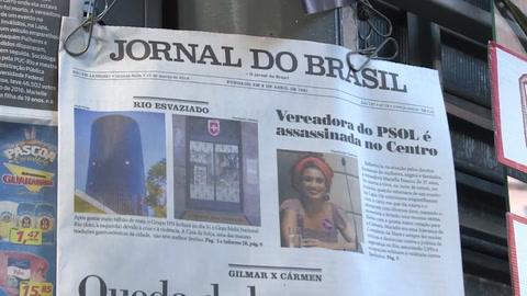 Asesinan a concejala de partido de izquierda PSOL en Rio