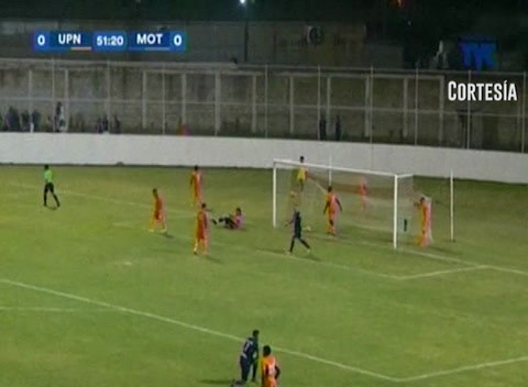 Gol de Motagua al UPN (Liga Nacional 2017)