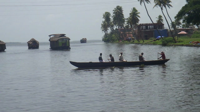 Alappuzha (Alleppey) Videos-backwaters on houseboat