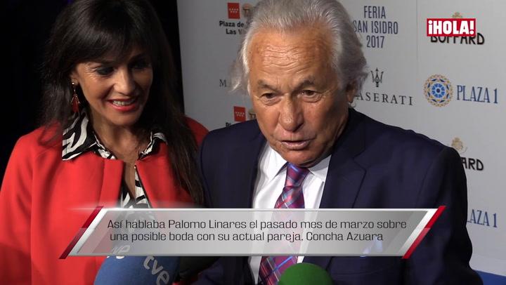 La boda entre Palomo Linares con Concha Azuara que no pudo celebrarse