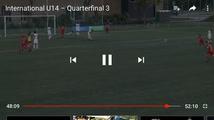 Last minute goal