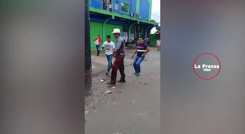 Honduras: Un muerto en manifestaciones en Colón