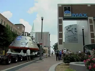 NASA'S Orion Spacecraft Makes Stop in Tallahassee