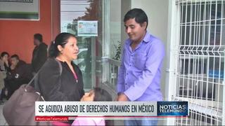 Migrante hondureño denuncia abuso de derechos humanos