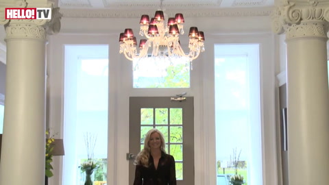 Michelle Mone welcomes HELLO! into her palatial new Glasgow home