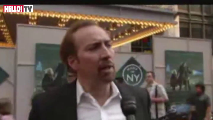Nicolas Cage on his \'magical\' new film, \'The Sorcerer\'s Apprentice\'